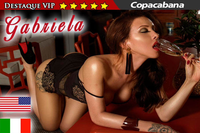 Gabriela Ferrari - shemale RJ - advertisement VIP