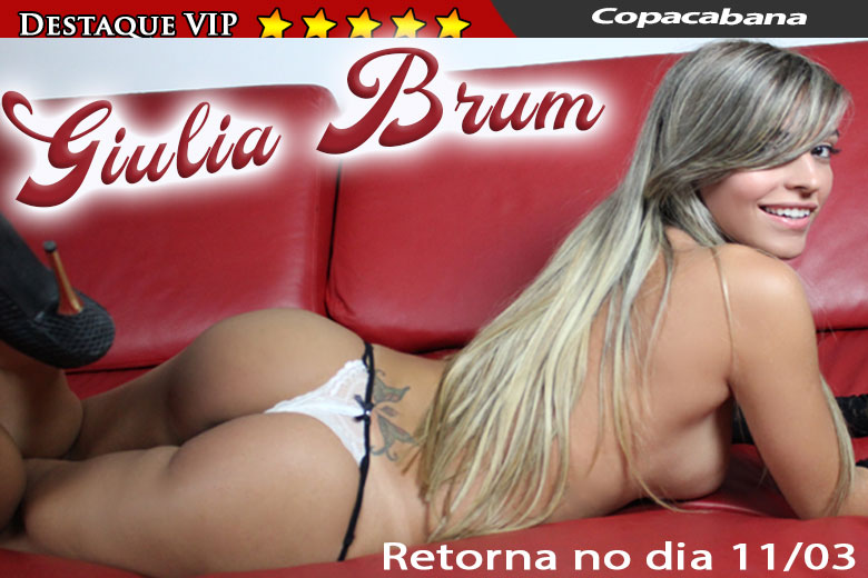 Giulia Brum - shemale RJ - advertisement VIP