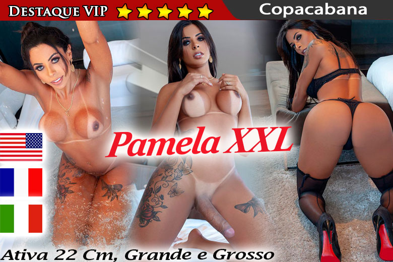Pamela XXL - shemale RJ - advertisement VIP