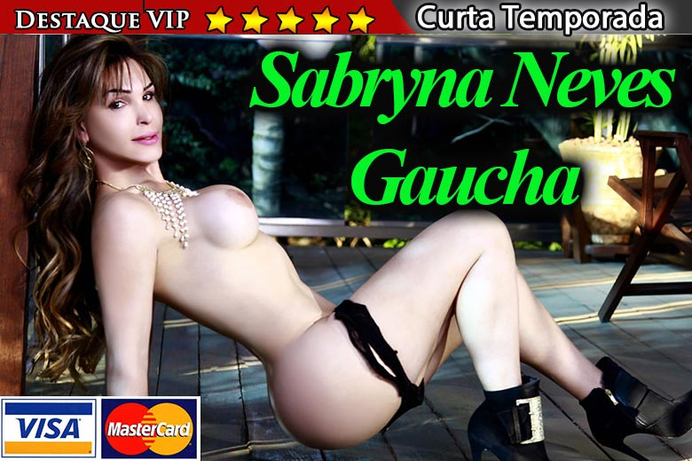 travesti Sabryna Neves anuncio VIP